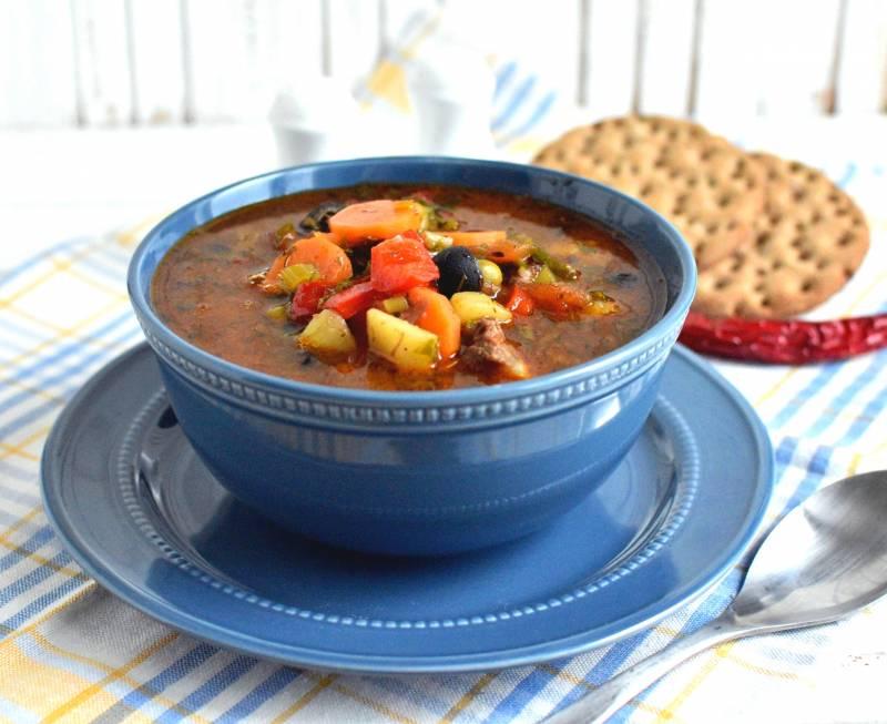 Острый картофельный суп