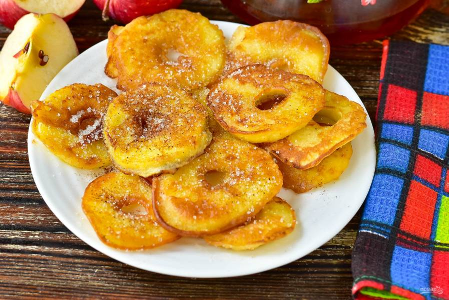 Яблочные донатсы