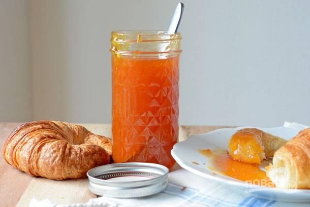 Варенье из абрикосов без шкурки