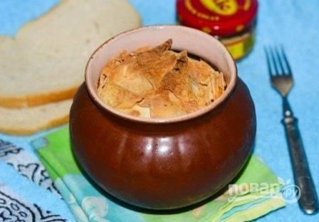 Запекаем минут 50, время готовки зависит от сорта картошки.