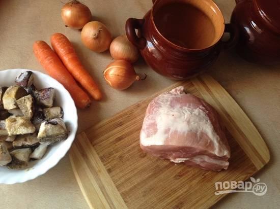 Как видите, готовить будем из минимального набора ингредиентов. Добавляйте любые овощи по своему вкусу, не прогадаете.