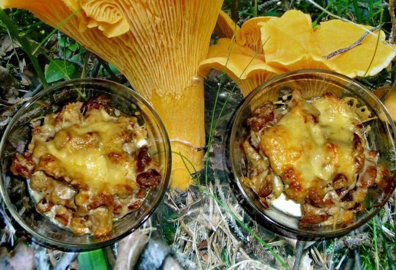 Как только сыр расплавится, можно извлекать жульен из духовки и подавать его к столу. Приятного всем аппетита!