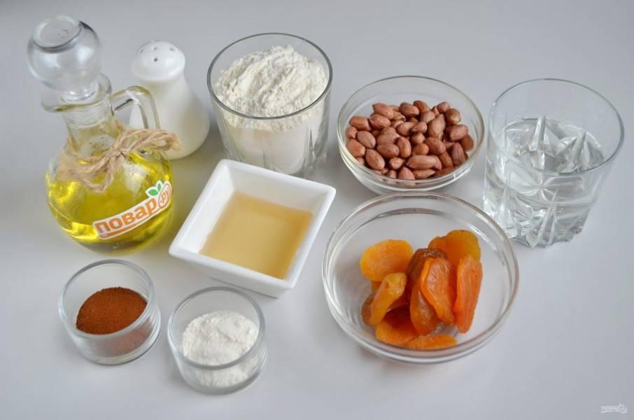 1. Подготовьте продукты для кексов. Приступим!