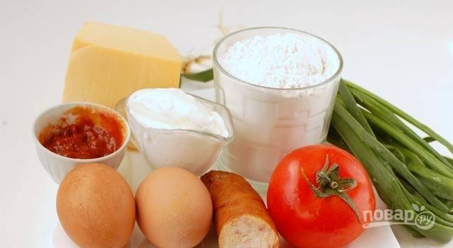 На приготовление этого блюда у вас уйдет всего 10 минут! Начинаем с того, что хорошенько промываем овощи и зелень.
