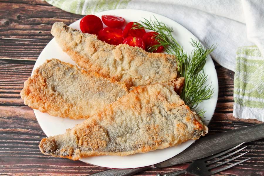 Жареная рыба с хрустящей корочкой
