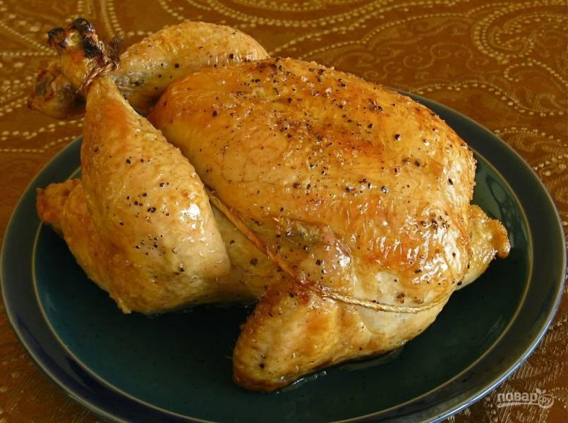 Простой рецепт курицы в духовке