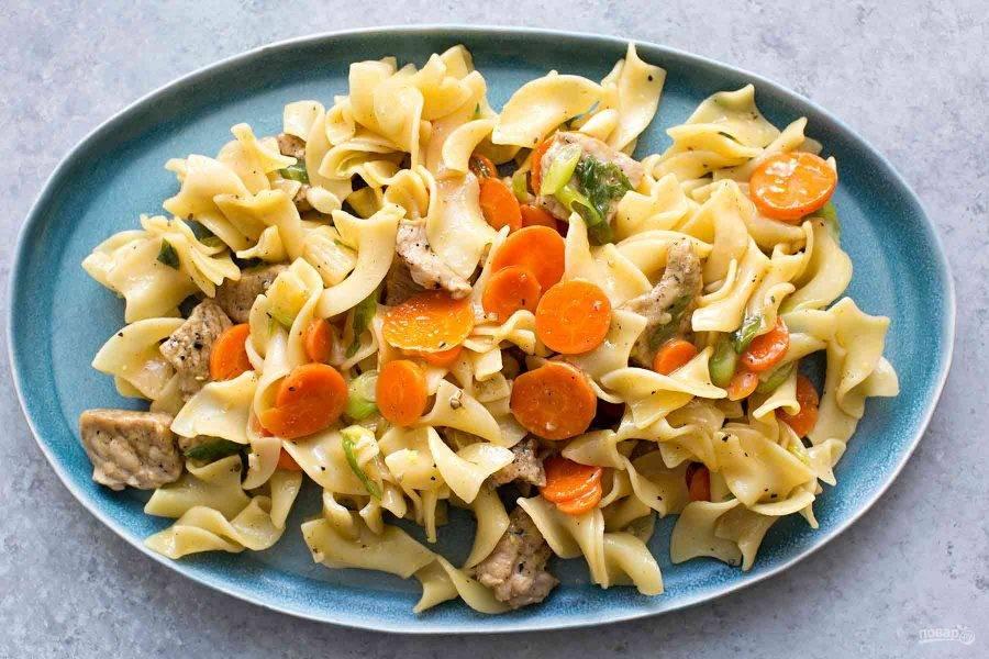 9.Подавайте блюдо сразу после приготовления.