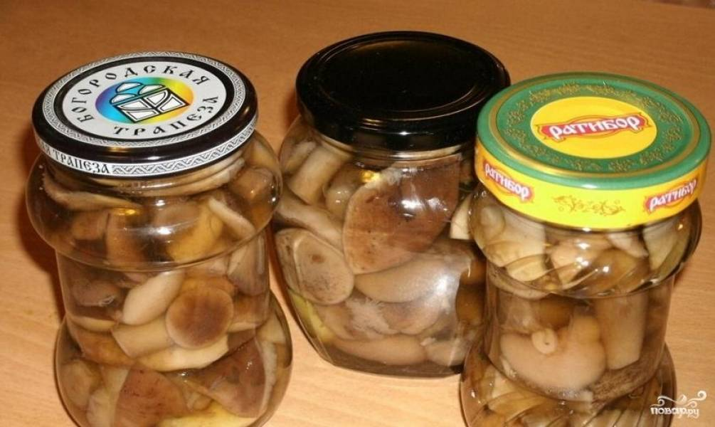 Закатка грибов на зиму