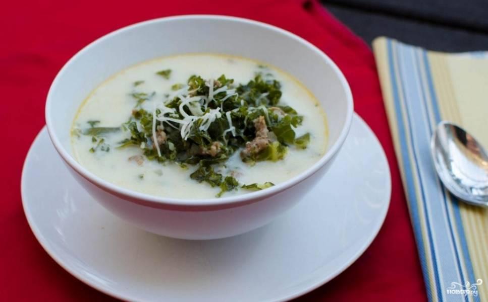 Тосканский суп готов. Приятного аппетита!