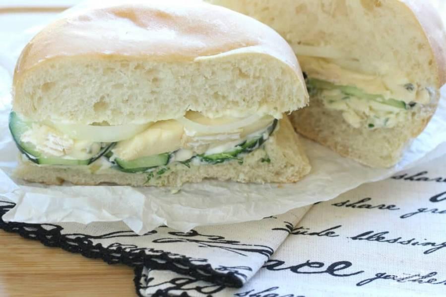 Французский сэндвич с сыром