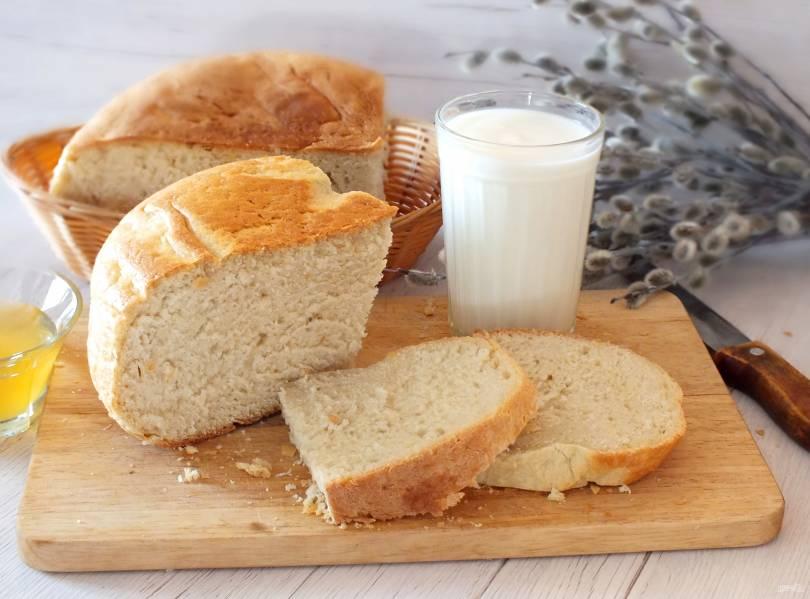 Хлеб на сыворотке в мультиварке
