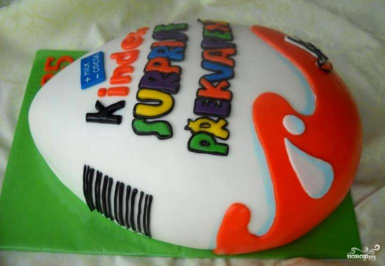 """Торт """"Киндер сюрприз"""""""