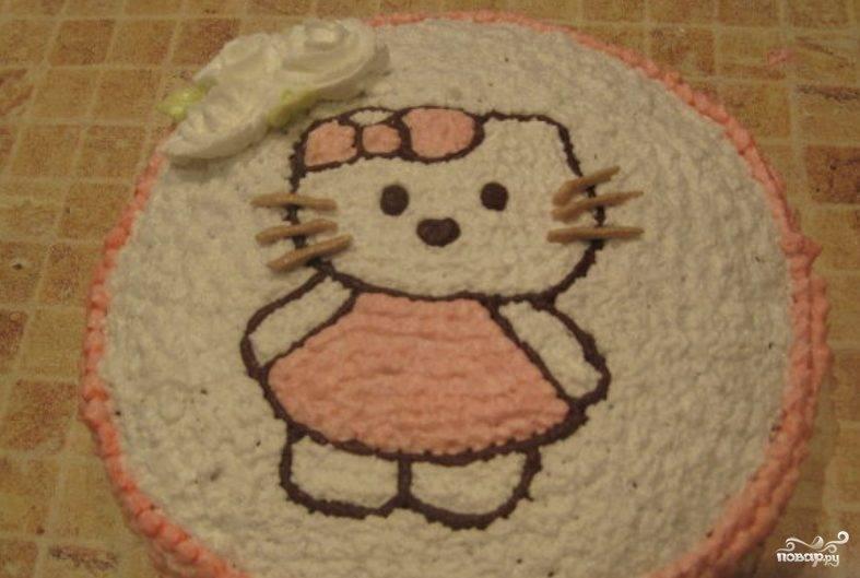 Торт на день рождения девочке 4 года