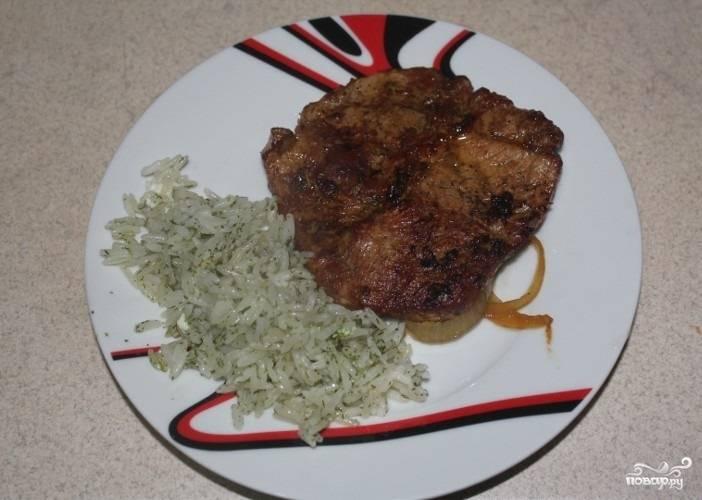 Свинина в соевом соусе в духовке