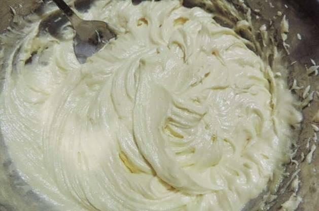 Получаем густой, шелковистый и очень ароматный крем.