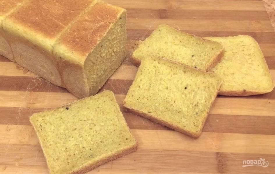 Тостовый пшенично-кукурузный хлеб