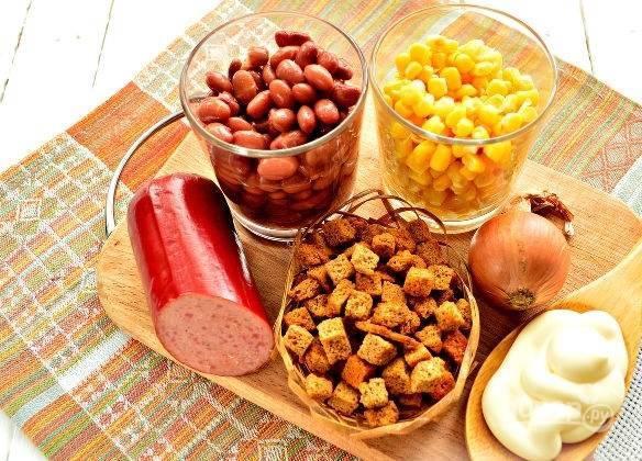 1. Вот такой простой и недорогой набор ингредиентов мы будем использовать.