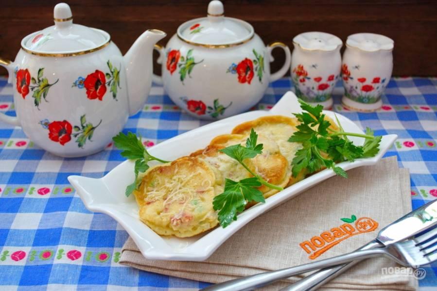 Лепешки на завтрак