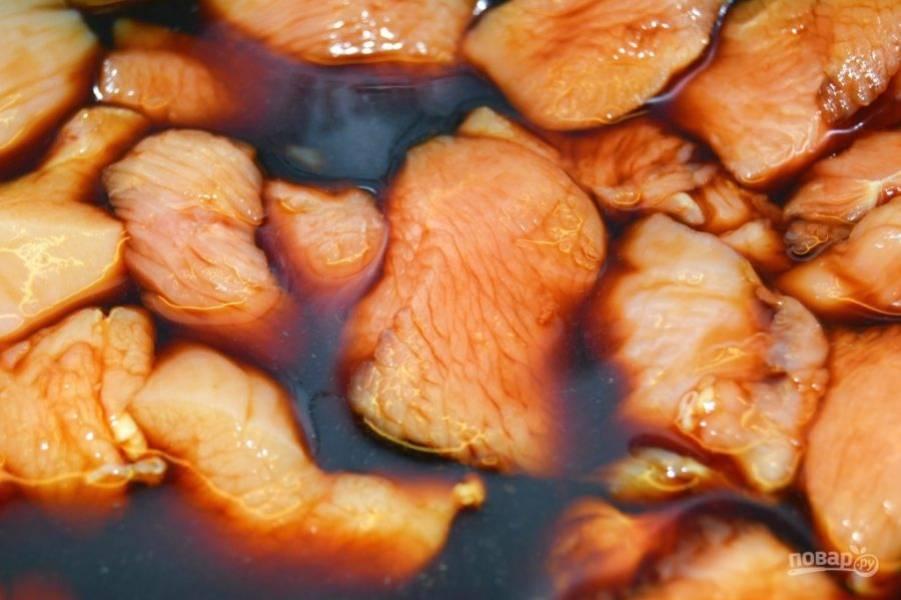 3.Оставьте мясо примерно на 20-30 минут.