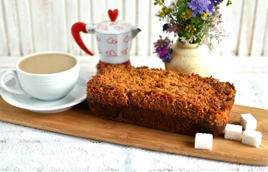 Остудите и подавайте к чашечке кофе со сливками!