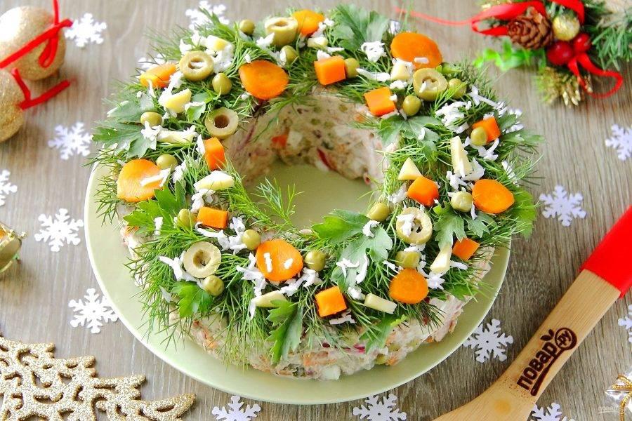 Год Свиньи: готовим салаты и закуски на новогодний стол