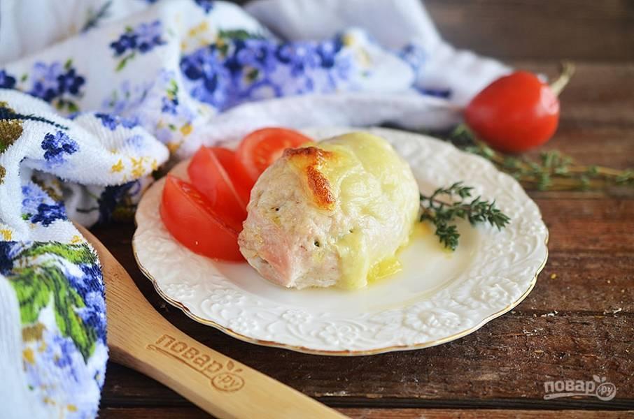 8. Запекайте в разогретой до 180 градусов духовке около 35 минут. Приятного аппетита!