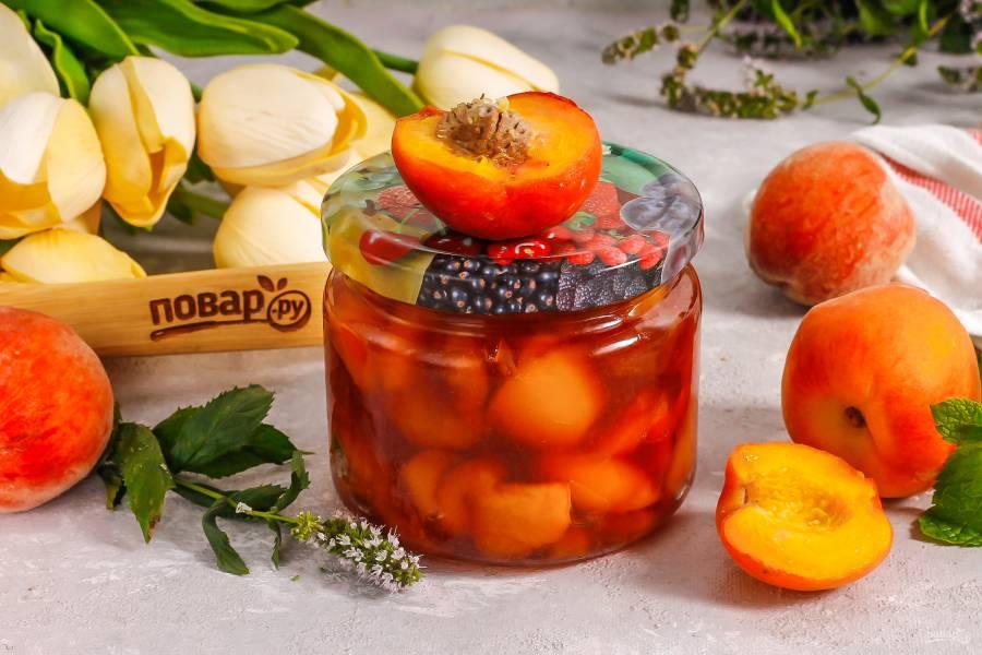 Варенье из персиков с пектином