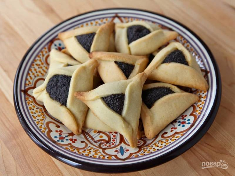 Печенье с маковой начинкой