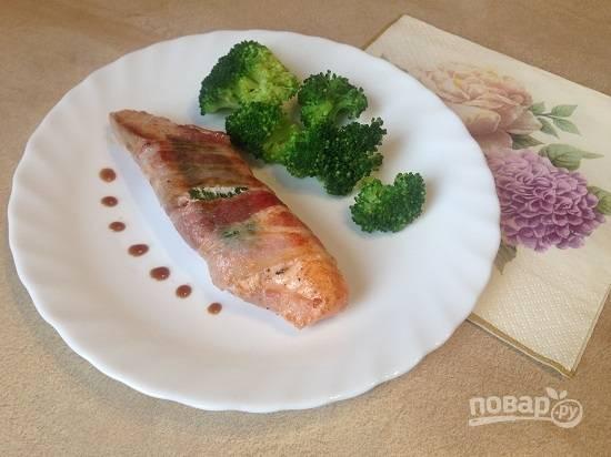 7. Ароматная и вкусная рыбка готова!