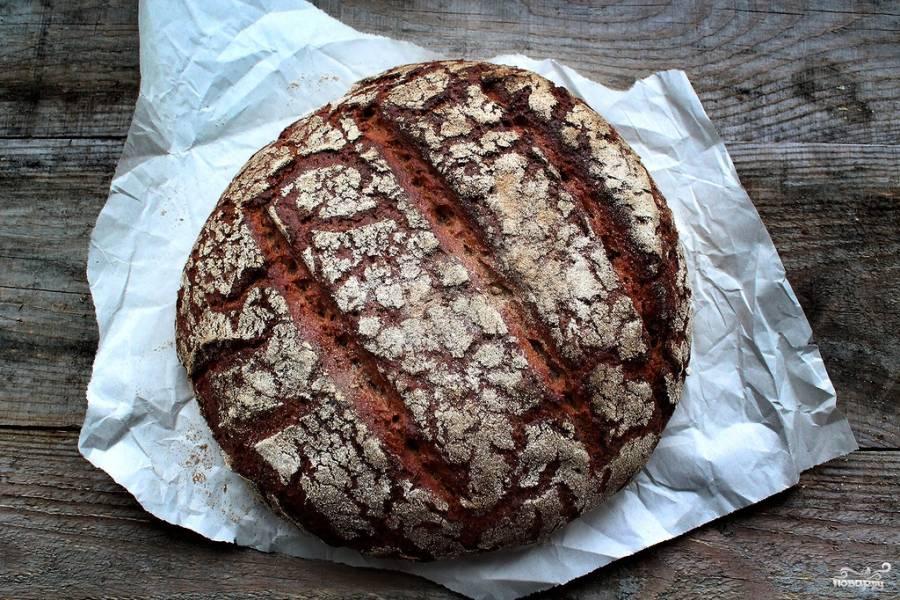 Ржаной хлеб на закваске