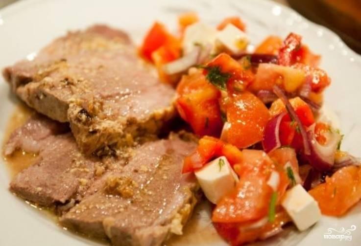 Печеное мясо в духовке