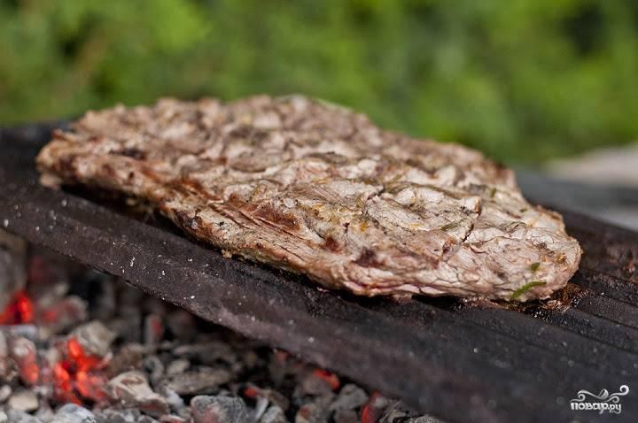 8. Вот и весь секрет, как сделать стейк из пашины. Приятного аппетита!