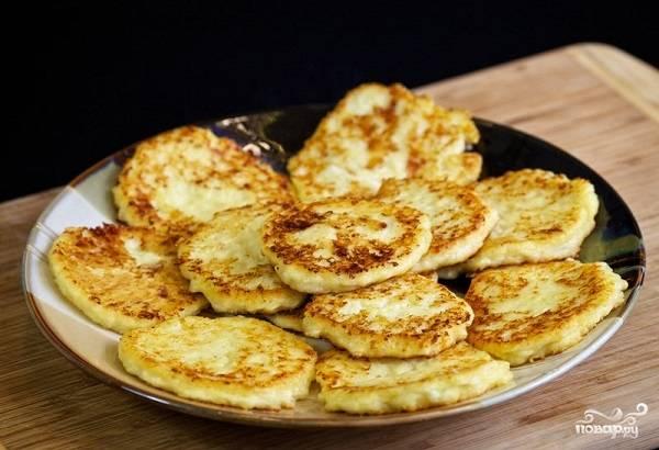 9. Вот как сделать нежные сырники из творога легко и быстро. Приятного аппетита!