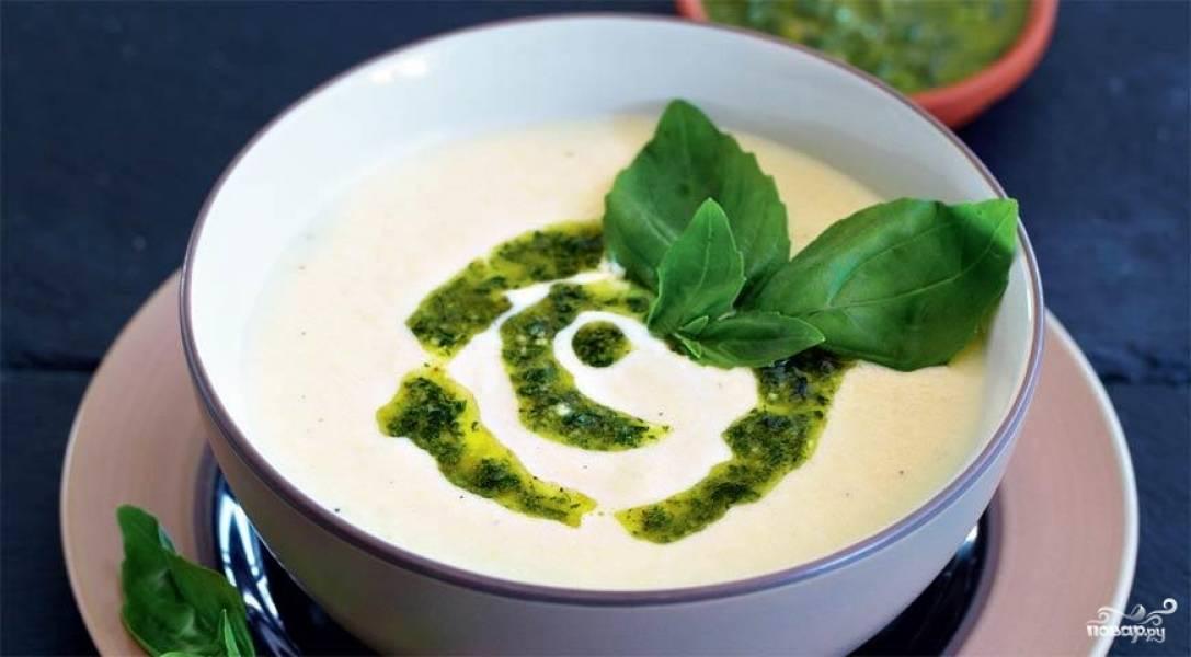 Суп из артишоков