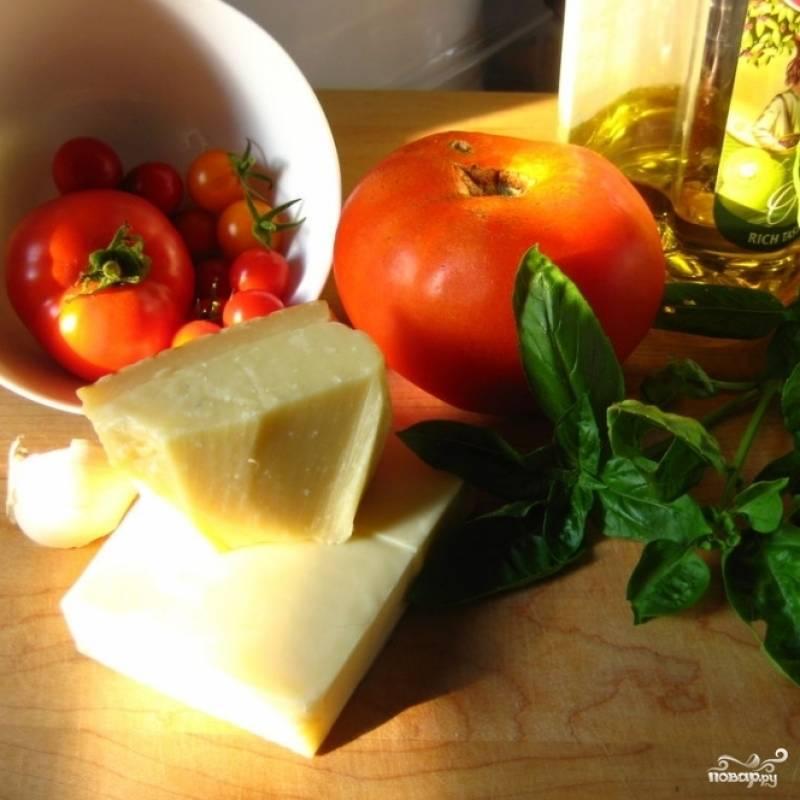 Ингредиенты для начинки можете выбирать по своему усмотрению. Я готовлю традиционную итальянскую маргариту, в которую не входит мясо. Однако, при желании, вы можете добавить в начинку колбасу, ветчину, грибы, курицу - что угодно.