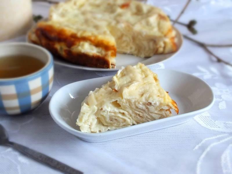 Десерт можно подавать как теплым, так и полностью остывшим. Приятного аппетита!