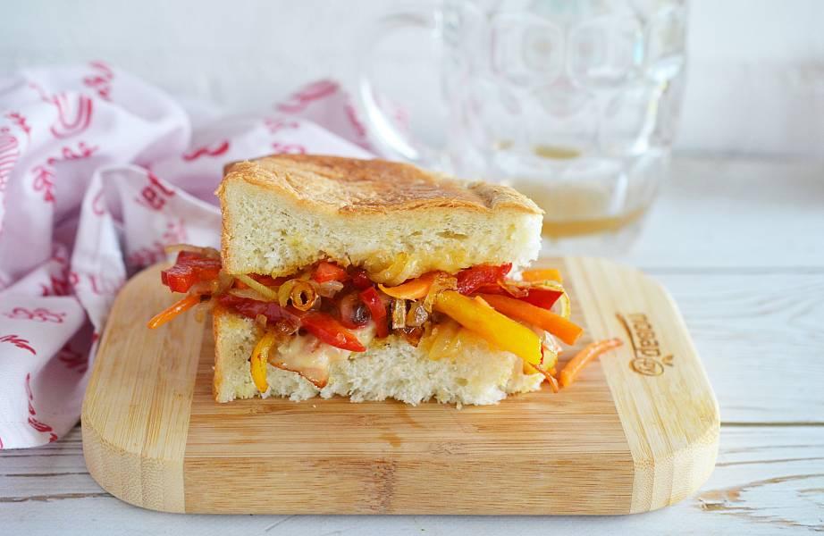 Стир-фрай сэндвич