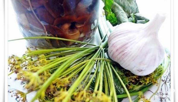 Волнушки в маринаде
