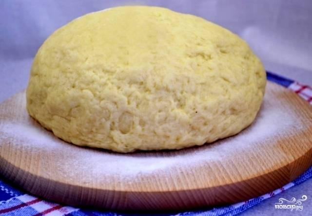 Тесто на твороге для пирожков