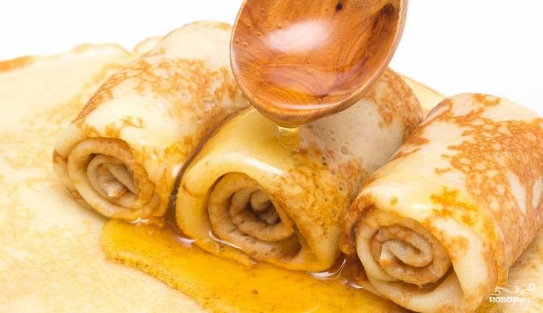 3. Вот такими они получаются! Вкусно и нежно! Дополняйте их медом, сметаной, сливочным маслом и любыми начинками по вкусу.