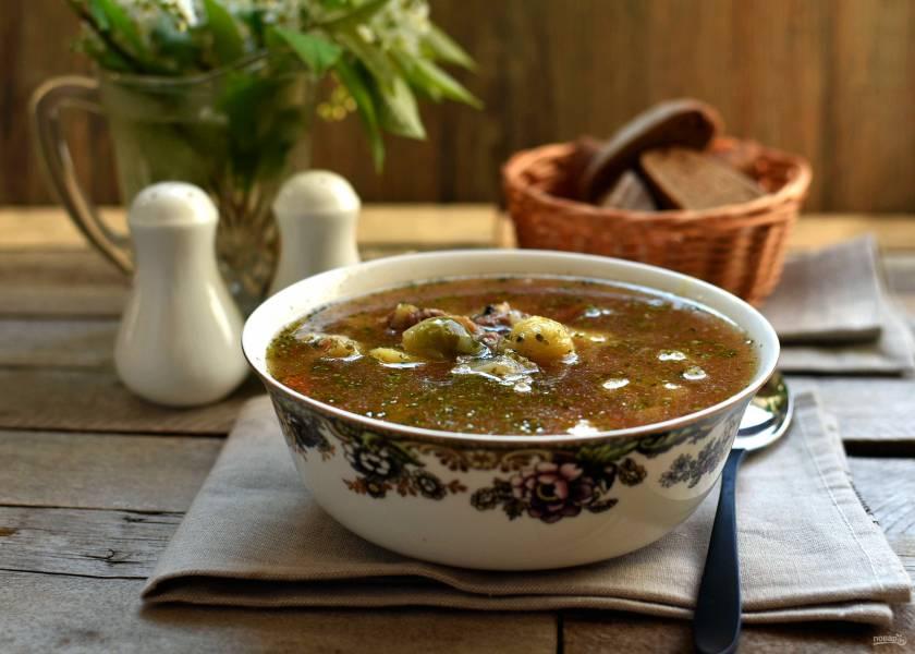 Суп «Европейский капустняк»