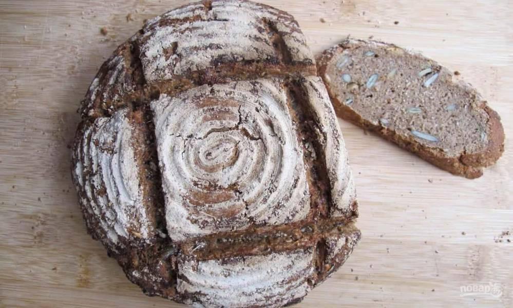 Рецепт ржаного хлеба на дрожжах