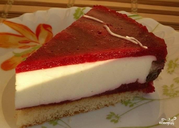 Желе для торта