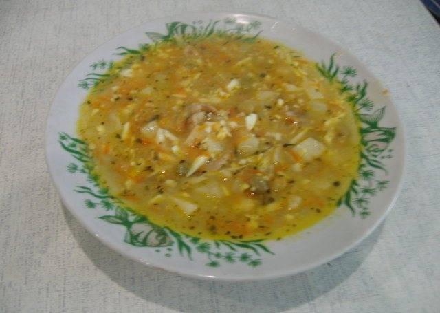 6. Суп готов! Приятного аппетита!