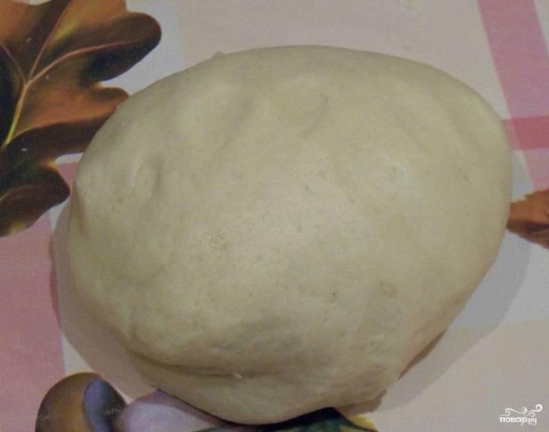 По вкусу можно досыпать в тесто ванилин, корицу или какао. Замешиваем мягкое масляное тесто. Вымешайте его хорошенько, чтобы не осталось комочков. Дайте полежать под полотенцем минут 15-20.
