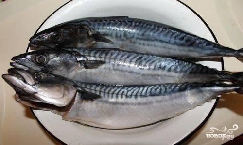 1. Хорошо промоем и очистим рыбу от чешуи, внутренностей и крупных костей. Головы удаляем.