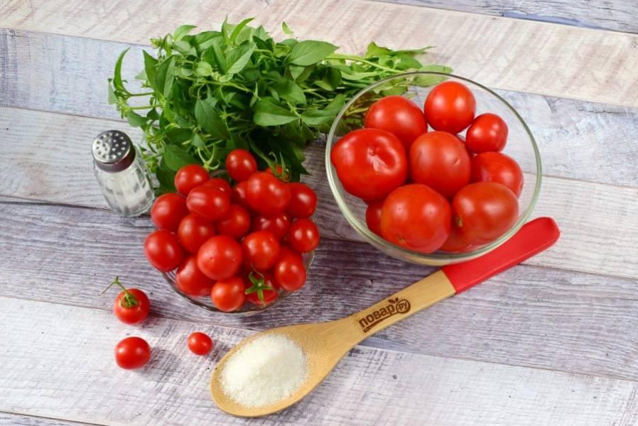 Что делать с помидорами быстро и просто (если томатов завались)?