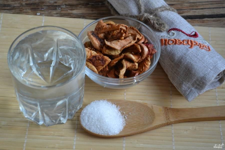 Подготовьте все необходимые ингредиенты. Вскипятите воду (чтобы было быстрее, я беру кипяток из чайника).
