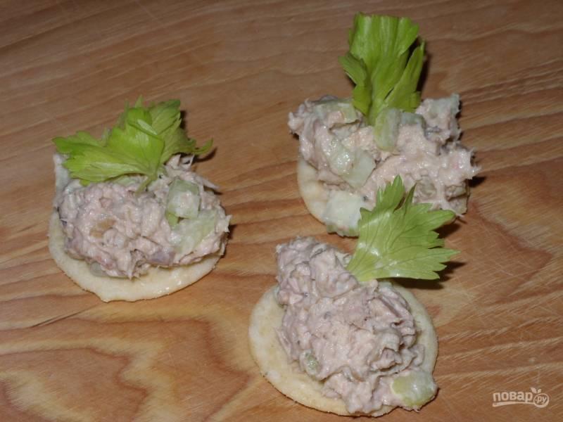 Салат-закуска с селедкой