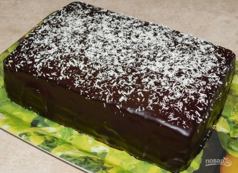 """Шоколадный кекс """"Брауни"""""""